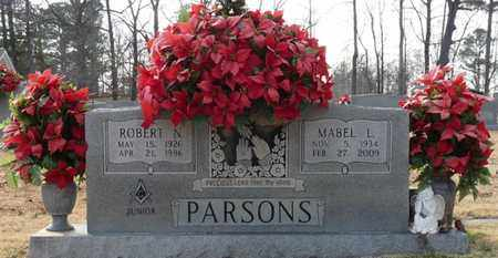 PARSONS, MABEL L - Tishomingo County, Mississippi | MABEL L PARSONS - Mississippi Gravestone Photos