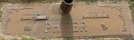 PHIFER, VIRGINIA - Tishomingo County, Mississippi | VIRGINIA PHIFER - Mississippi Gravestone Photos