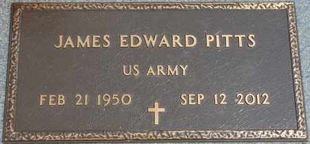 PITTS (VETERAN), JAMES EDWARD - Tishomingo County, Mississippi | JAMES EDWARD PITTS (VETERAN) - Mississippi Gravestone Photos