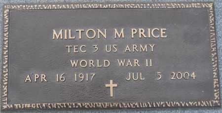 PRICE (VETERAN WWII), MILTON M - Tishomingo County, Mississippi | MILTON M PRICE (VETERAN WWII) - Mississippi Gravestone Photos