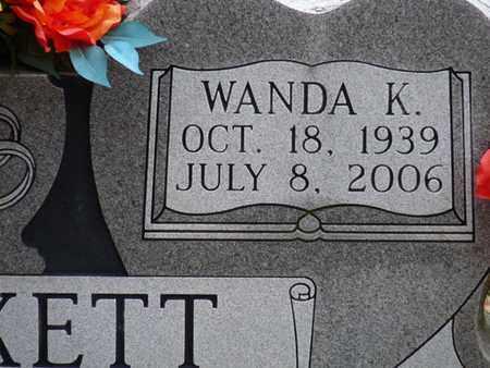 PUCKETT, WANDA K - Tishomingo County, Mississippi | WANDA K PUCKETT - Mississippi Gravestone Photos