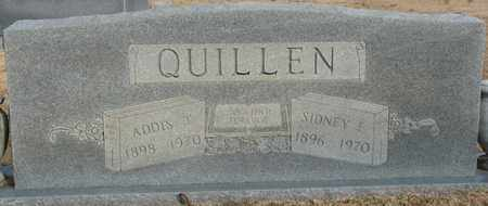 QUILLEN, SIDNEY FAY - Tishomingo County, Mississippi | SIDNEY FAY QUILLEN - Mississippi Gravestone Photos