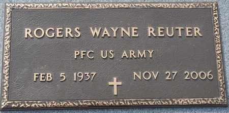 REUTER (VETERAN), ROGERS WAYNE - Tishomingo County, Mississippi | ROGERS WAYNE REUTER (VETERAN) - Mississippi Gravestone Photos