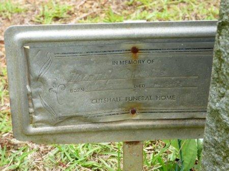 WILLIAMS RHODES, DOROTHY E - Tishomingo County, Mississippi | DOROTHY E WILLIAMS RHODES - Mississippi Gravestone Photos