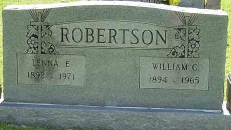 ROBERTSON, LENNA E - Tishomingo County, Mississippi | LENNA E ROBERTSON - Mississippi Gravestone Photos