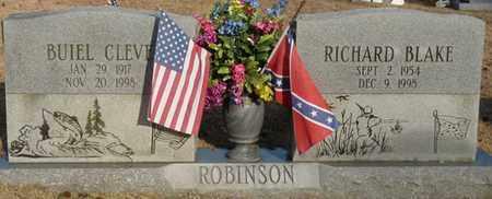 ROBINSON, BUIEL CLEVE - Tishomingo County, Mississippi | BUIEL CLEVE ROBINSON - Mississippi Gravestone Photos
