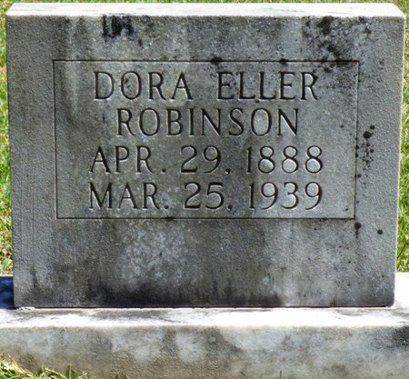 ROBINSON, DORA ELLER - Tishomingo County, Mississippi | DORA ELLER ROBINSON - Mississippi Gravestone Photos