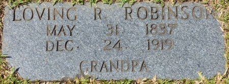 ROBINSON, LOVING R - Tishomingo County, Mississippi | LOVING R ROBINSON - Mississippi Gravestone Photos