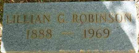 ROBINSON, LILLIAN G - Tishomingo County, Mississippi | LILLIAN G ROBINSON - Mississippi Gravestone Photos