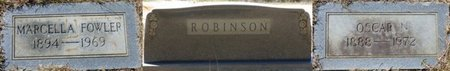 ROBINSON, OSCAR N - Tishomingo County, Mississippi | OSCAR N ROBINSON - Mississippi Gravestone Photos