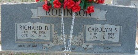 "ROBINSON, RICHARD D ""DICKIE"" - Tishomingo County, Mississippi | RICHARD D ""DICKIE"" ROBINSON - Mississippi Gravestone Photos"