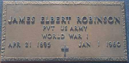 ROBINSON (VETERAN WWI), JAMES ELBERT - Tishomingo County, Mississippi | JAMES ELBERT ROBINSON (VETERAN WWI) - Mississippi Gravestone Photos