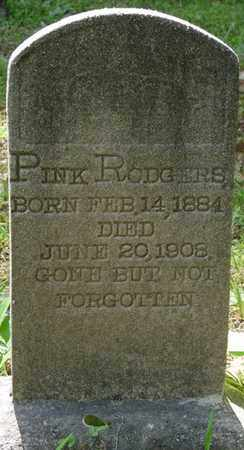 RODGERS, PINK - Tishomingo County, Mississippi   PINK RODGERS - Mississippi Gravestone Photos