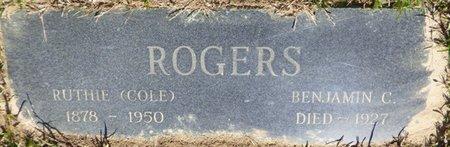 ROGERS, BENJAMIN C - Tishomingo County, Mississippi | BENJAMIN C ROGERS - Mississippi Gravestone Photos