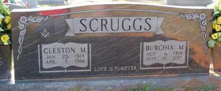 SCRUGGS, BURCHIA M - Tishomingo County, Mississippi | BURCHIA M SCRUGGS - Mississippi Gravestone Photos