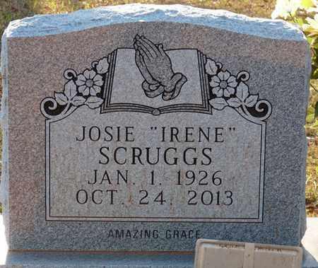 "SCRUGGS, JOSIE ""IRENE"" - Tishomingo County, Mississippi | JOSIE ""IRENE"" SCRUGGS - Mississippi Gravestone Photos"