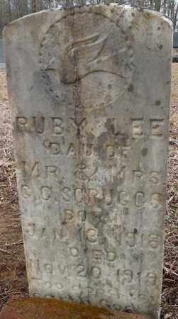 SCRUGGS, RUBY LEE - Tishomingo County, Mississippi | RUBY LEE SCRUGGS - Mississippi Gravestone Photos