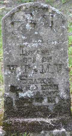 SEATON, INFANT SON - Tishomingo County, Mississippi | INFANT SON SEATON - Mississippi Gravestone Photos