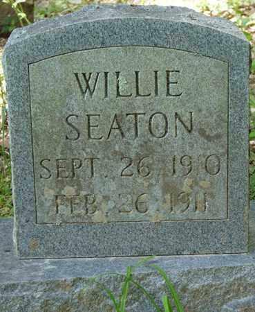 SEATON, WILLIE - Tishomingo County, Mississippi | WILLIE SEATON - Mississippi Gravestone Photos