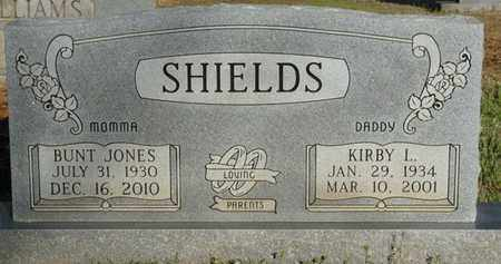 SHIELDS, BUNT JONES - Tishomingo County, Mississippi | BUNT JONES SHIELDS - Mississippi Gravestone Photos