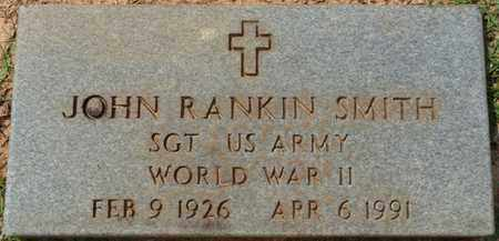 "SMITH (VETERAN WWII), JOHN RANKIN ""JOHNNY"" - Tishomingo County, Mississippi   JOHN RANKIN ""JOHNNY"" SMITH (VETERAN WWII) - Mississippi Gravestone Photos"