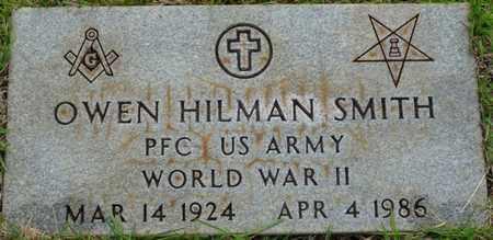 SMITH (VETERAN WWII), OWEN HILMAN - Tishomingo County, Mississippi | OWEN HILMAN SMITH (VETERAN WWII) - Mississippi Gravestone Photos
