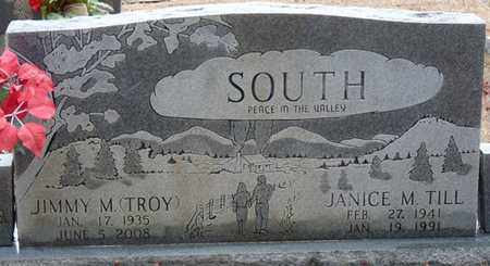 SOUTH, JANICE M TILL - Tishomingo County, Mississippi | JANICE M TILL SOUTH - Mississippi Gravestone Photos