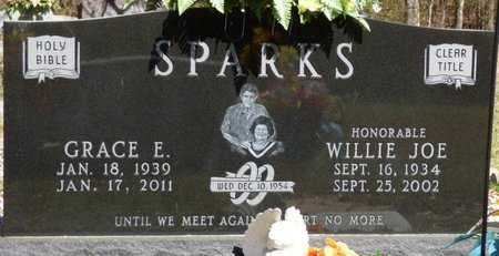 SPARKS, WILLIE JOE - Tishomingo County, Mississippi | WILLIE JOE SPARKS - Mississippi Gravestone Photos