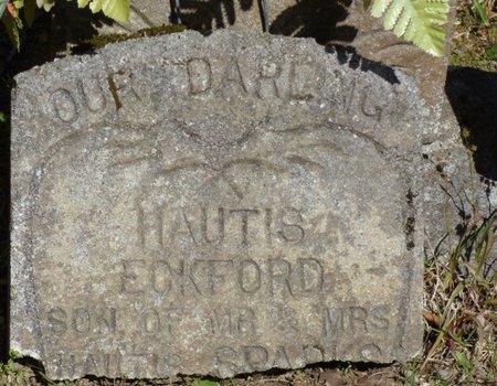 SPARKS, HAUTIS ECKFORD - Tishomingo County, Mississippi | HAUTIS ECKFORD SPARKS - Mississippi Gravestone Photos