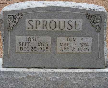 SPROUSE, TOM P - Tishomingo County, Mississippi | TOM P SPROUSE - Mississippi Gravestone Photos