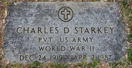 STARKEY (VETERAN WWII), CHARLES D - Tishomingo County, Mississippi   CHARLES D STARKEY (VETERAN WWII) - Mississippi Gravestone Photos