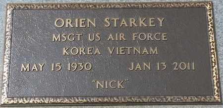 "STARKEY (VETERAN KOR-VIET), ORIEN ""NICK"" - Tishomingo County, Mississippi | ORIEN ""NICK"" STARKEY (VETERAN KOR-VIET) - Mississippi Gravestone Photos"