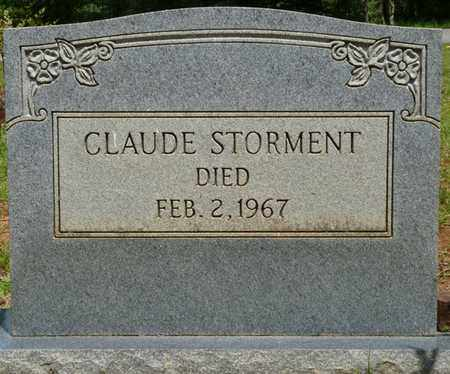STORMENT, CLAUDE - Tishomingo County, Mississippi | CLAUDE STORMENT - Mississippi Gravestone Photos