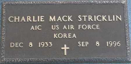 STRICKLIN (VETERAN KOREA), CHARLIE MACK - Tishomingo County, Mississippi   CHARLIE MACK STRICKLIN (VETERAN KOREA) - Mississippi Gravestone Photos