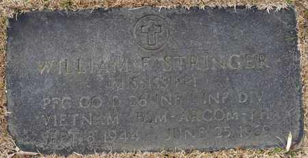 STRINGER (VETERAN VIETNAM), WILLIAM F - Tishomingo County, Mississippi   WILLIAM F STRINGER (VETERAN VIETNAM) - Mississippi Gravestone Photos