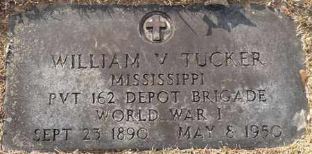 TUCKER (VETERAN WWI), WILLIAM V - Tishomingo County, Mississippi | WILLIAM V TUCKER (VETERAN WWI) - Mississippi Gravestone Photos