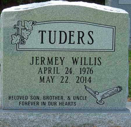 TUDERS, JERMEY WILLIS - Tishomingo County, Mississippi   JERMEY WILLIS TUDERS - Mississippi Gravestone Photos