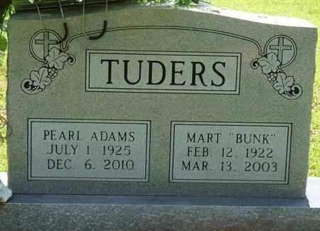 ADAMS TUDERS, PEARL - Tishomingo County, Mississippi | PEARL ADAMS TUDERS - Mississippi Gravestone Photos