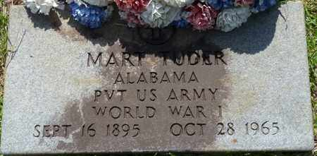 TUDERS SR. (VETERAN WWI), WILLIAM MART - Tishomingo County, Mississippi | WILLIAM MART TUDERS SR. (VETERAN WWI) - Mississippi Gravestone Photos