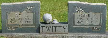 TWITTY, OMER P - Tishomingo County, Mississippi | OMER P TWITTY - Mississippi Gravestone Photos