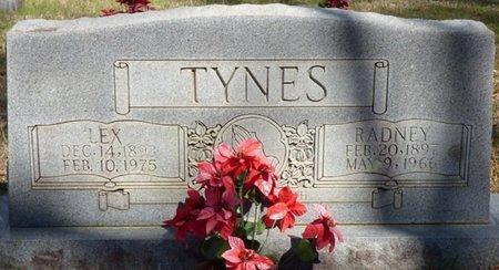 TYNES, LEX - Tishomingo County, Mississippi | LEX TYNES - Mississippi Gravestone Photos