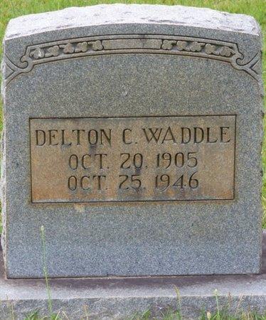 WADDLE, DELTON C - Tishomingo County, Mississippi | DELTON C WADDLE - Mississippi Gravestone Photos