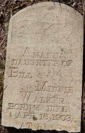 WALKER, AMANDA - Tishomingo County, Mississippi | AMANDA WALKER - Mississippi Gravestone Photos