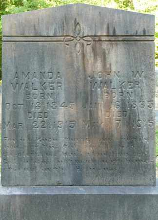 WALKER, JOHN W - Tishomingo County, Mississippi | JOHN W WALKER - Mississippi Gravestone Photos
