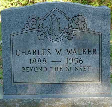 WALKER, CHARLES W - Tishomingo County, Mississippi | CHARLES W WALKER - Mississippi Gravestone Photos