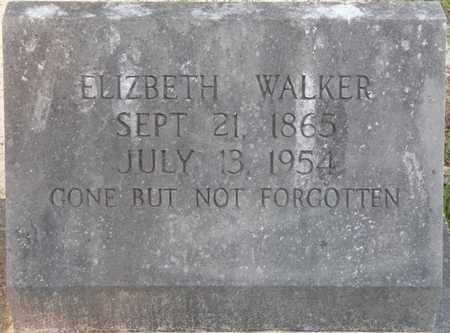 WALKER, DELILAH ELIZABETH - Tishomingo County, Mississippi | DELILAH ELIZABETH WALKER - Mississippi Gravestone Photos