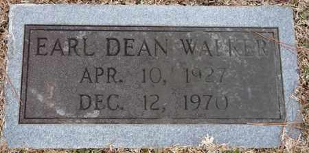 WALKER, EARL DEAN - Tishomingo County, Mississippi | EARL DEAN WALKER - Mississippi Gravestone Photos