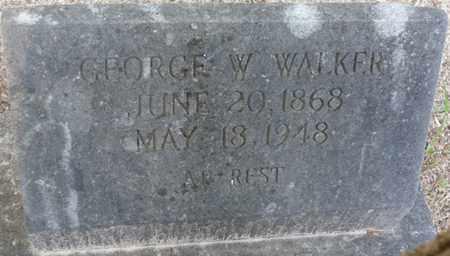 WALKER, GEORGE W - Tishomingo County, Mississippi   GEORGE W WALKER - Mississippi Gravestone Photos