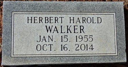 WALKER, HERBERT HAROLD - Tishomingo County, Mississippi | HERBERT HAROLD WALKER - Mississippi Gravestone Photos