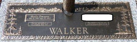 WALKER, HOILE DWAYNE - Tishomingo County, Mississippi   HOILE DWAYNE WALKER - Mississippi Gravestone Photos